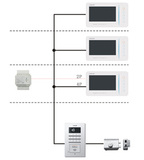 304别墅对讲系统智能家居系统