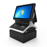 双屏访客扫描仪/访客扫描系统/可定制/支持指纹录入